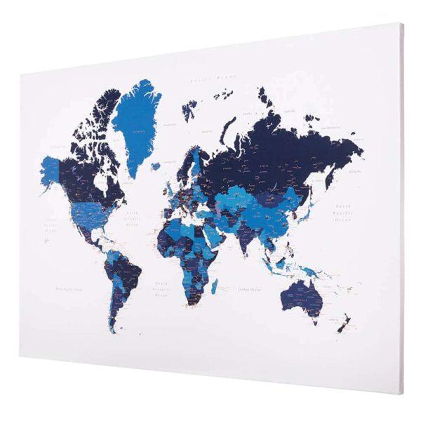 tableau carte du mode bleu marin