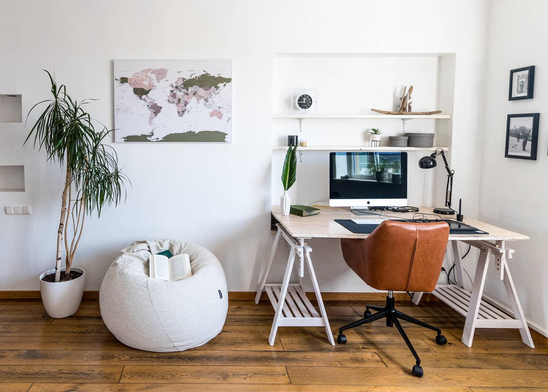 map interior decor push pin world canvas