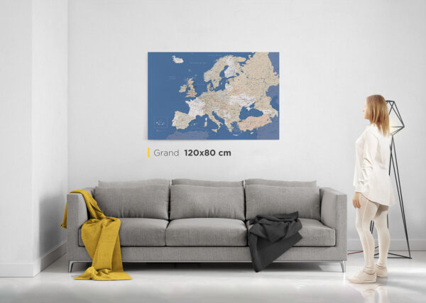 Carte-de-l'Europe-avec-épingles-grand