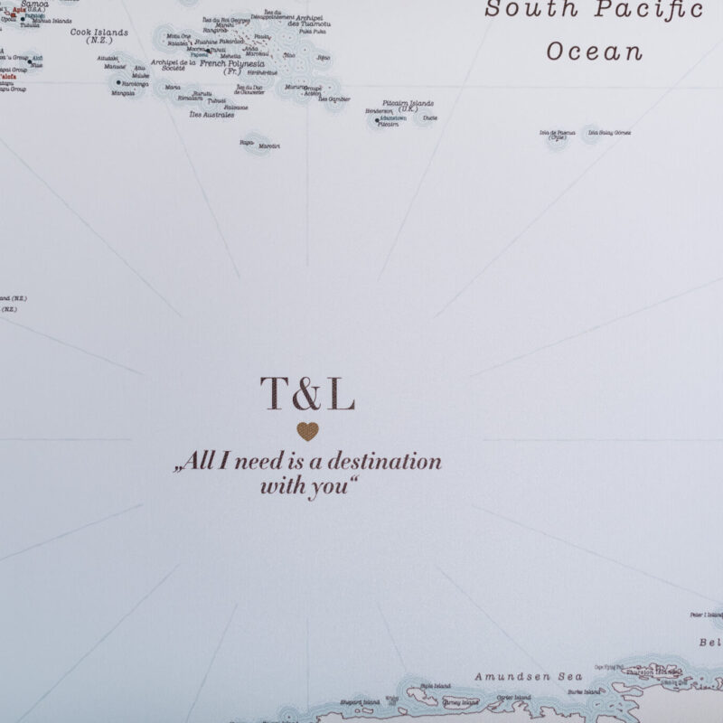 Image sur toile tripmap