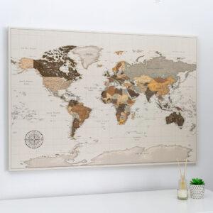 safari carte mondiale